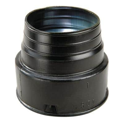 4 in. Corrugated Pipe Adapter Hub x SPT