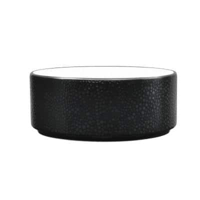 Colortex Stone Black Porcelain Cereal Bowl 6 in., 20 oz.