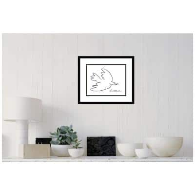 Dove of Peace by Pablo Picasso Framed Print Wall Art