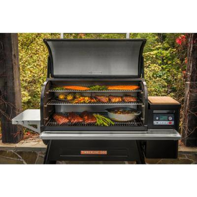 Timberline 1300 Wifi Pellet Grill and Smoker in Black