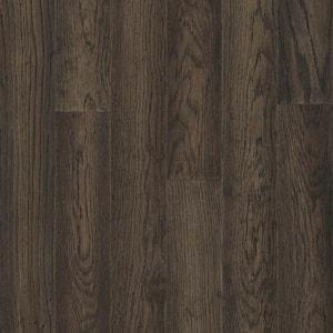 Hydropel Oak Dark Brown 7/16 in. T x 5 in. W x Varying Length Engineered Hardwood Flooring (22.6 sq. ft.)