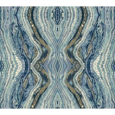 45 sq. ft. Kaleidoscope Premium Peel And Stick Wallpaper
