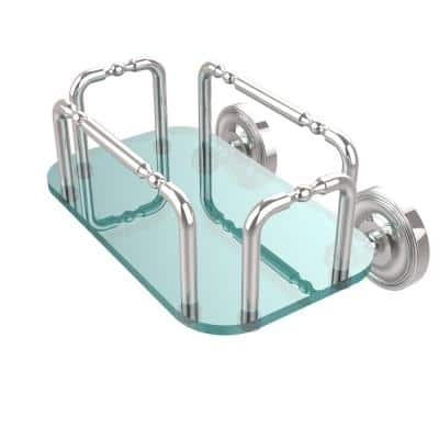 Prestige Wall Mounted Guest Towel Holder in Polished Chrome