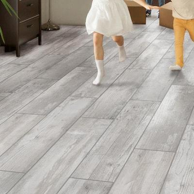 Alaskan Powder Light Grey 8 in. x 36 in. Matte Porcelain Floor and Wall Tile (122.4 sq. ft./Pack)