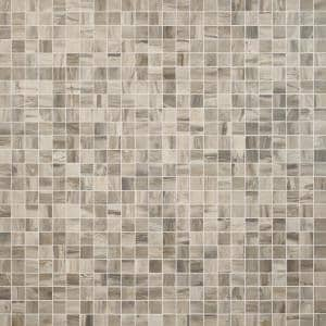 Selawood Brown 11.81 in. x 11.81 in. Matte Porcelain Floor and Wall Mosaic Tile (0.96 sq. ft./Each)