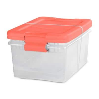15 Qt. Latching Boxes (2-Pack)