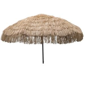 Palapa 7.5 ft. Aluminum Patio Umbrella in Whiskey Brown