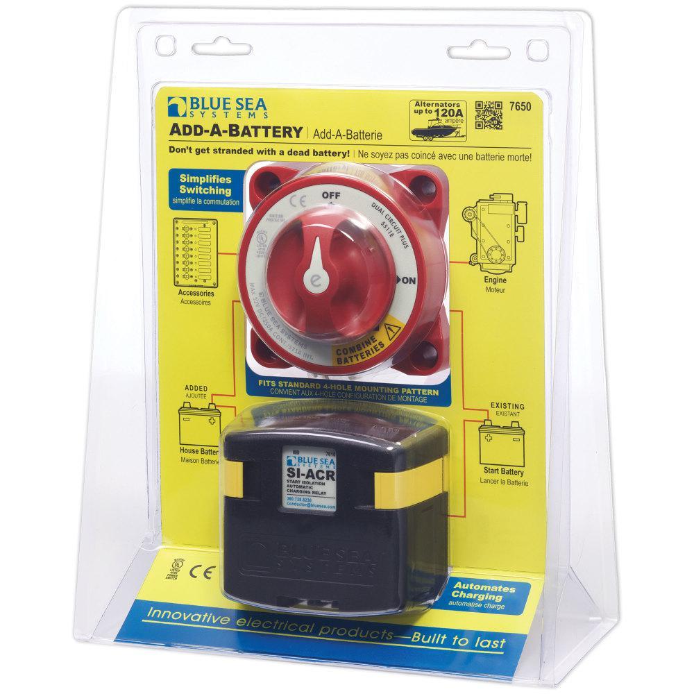 Add-A-Battery Kit -120A