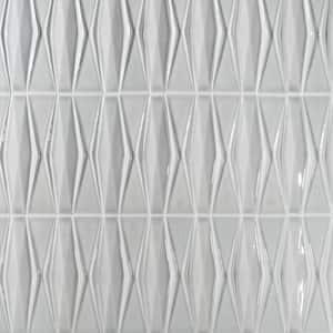 Delphi Harlequin Tundra 13 in. x 16 in. Polished Ceramic Mosaic Tile (1.41 sq. ft./Sheet)