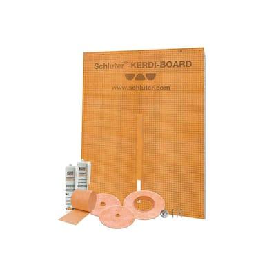 Kerdi-Board-Kit Wall Surround Waterproofing Kit
