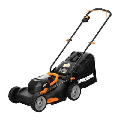 POWER SHARE 17 in. 40-Volt Cordless Battery Walk Behind Mower with Mulching and Intellicut (Tool-Only)