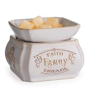 5.2 in. Faith, Family, Friends 2-in-1 Classic Fragrance Warmer