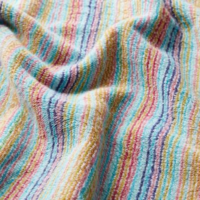 Stripe Multicolored Cotton Bath Sheet