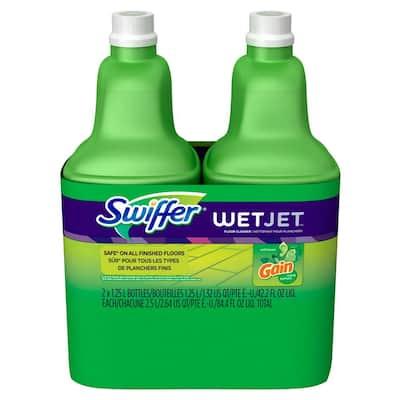 WetJet 42 oz. Multi-Purpose Floor Cleaner Refill with Gain Scent (2-Pack)