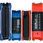 Combination Ergo-Fold Fold-up Set Sizes0.050 to 3/8 and Size 1.5 to 10 (28-Piece)