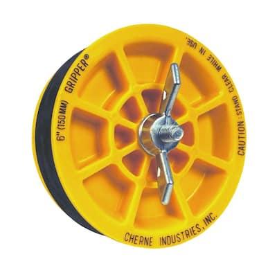 Gripper 6 in. ABS Plastic Mechanical Test Plug
