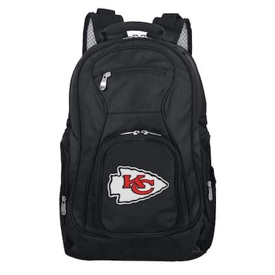 NFL Kansas City Chiefs Black Backpack Laptop