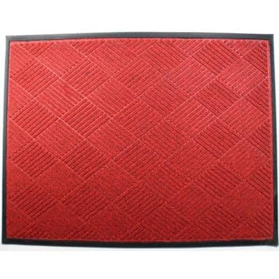 Rhino Mats - OPUS Red 48 in. x 72 in. Entrance Mat