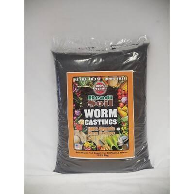 1/2 cu. ft. / 10 lb. 100% Organic Worm Casting Soil