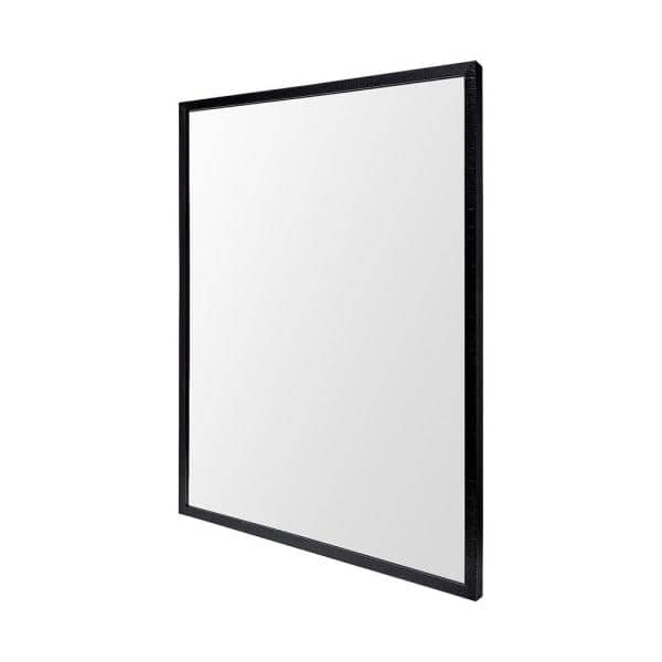Mercana Large Rectangle Black Modern, Large Rectangular Modern Mirrors