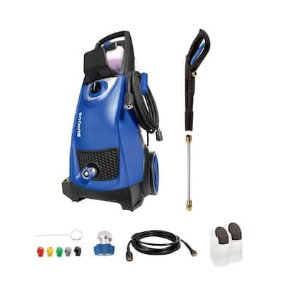 2030 MAX PSI 1.76 GPM 14.5 Amp Electric Pressure Washer, Blue