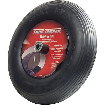 Flat-Free Wheelbarrow Tire