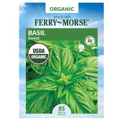 Basil Sweet Organic Seed