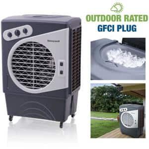 2700 CFM 3-Speed Outdoor Rated Portable Evaporative Cooler (Swamp Cooler) for 850 sq. ft.with GFCI Cord