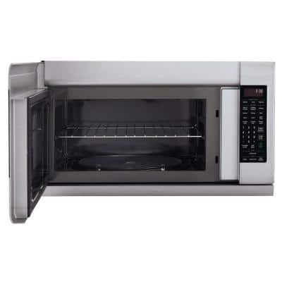2.2 cu. ft. Over the Range Microwave in Stainless Steel with Extenda Vent and EasyClean