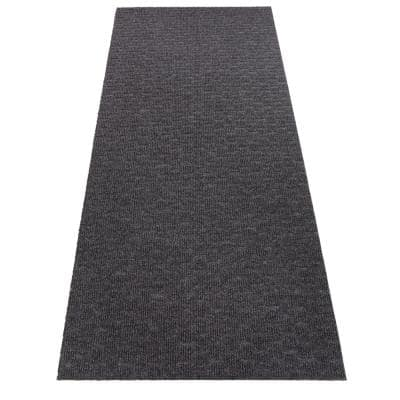 Marathon Cut to Size Dark Gray Color 36 inches Width x Your Choice Length Custom Size Slip Resistant Runner Rug