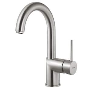 Vitale Single-Handle Bar Faucet in Brushed Nickel