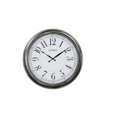 White Outdoor Antique Clock
