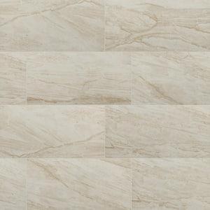 Vigo Beige 24 in. x 12 in. Matte Ceramic Floor and Wall Tile (28 Cases/448 sq. ft./Pallet)