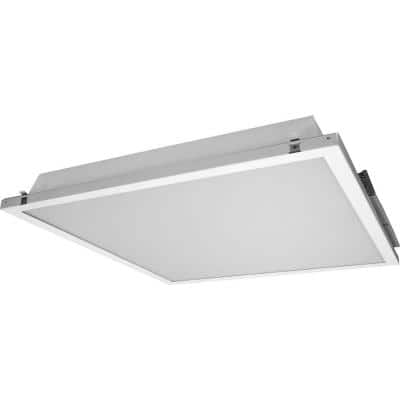 T3C 2 ft. x 2 ft. 5000K White Dimmable LED Ceiling Troffer with Preinstalled Driver