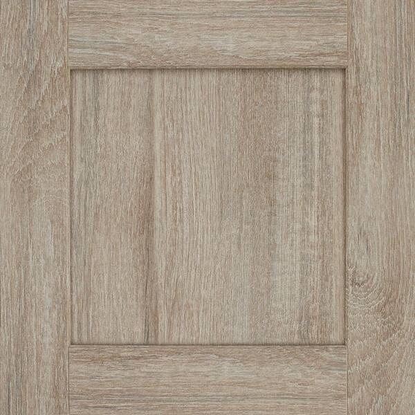 Cabinet Door Sample In Drift, Unfinished Cabinet Doors Home Depot