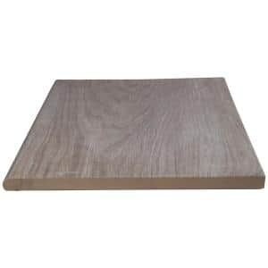 13 in. x 24 in. Palmwood Walnut Brown Porcelain Pool Coping (26-Pieces/56.33 sq. ft./Pallet)