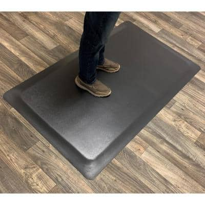 Industrial Smooth 2 ft. x 8 ft. x 7/8 in. Commercial Floor Mat Anti-Fatigue