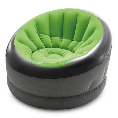 Empire Lime Green Indoor Inflatable Blow Up Dorm Room Lounge Air Chair