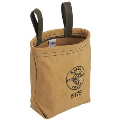 Water-Repellant Canvas Pouch - Belt Loops