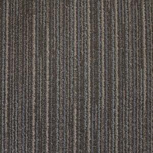 Montesa Pinstripe Loop 19.7 in. x 19.7 in. Carpet Tile (20 Tiles/Case)