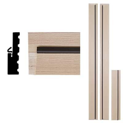 1-1/4 in. x 4-9/16 in. x 83 in. Primed Woodgrain Composite Door Frame Kit