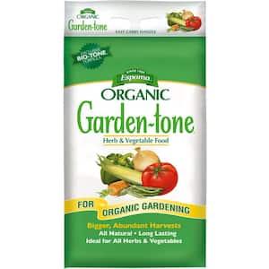 27 lb. Organic Garden Tone Herb and Vegetable Fertilizer