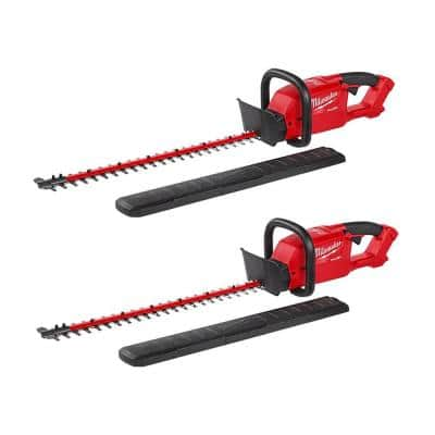M18 FUEL 18-Volt Lithium-Ion Brushless Cordless Hedge Trimmer (Tool-Only)(2-Pack)