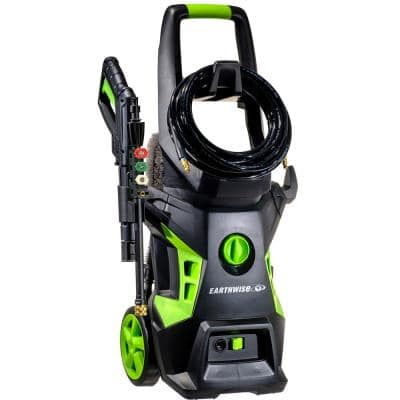 2050 PSI 1.4 GPM Cold Water Electric Pressure Washer with Foam Cannon Bundle