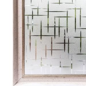 35.4 in. W x 78.7 in. L Decorative and Privacy 3D Window Film
