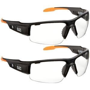 PRO Safety Glasses, Wide Lens, (2-Pack)
