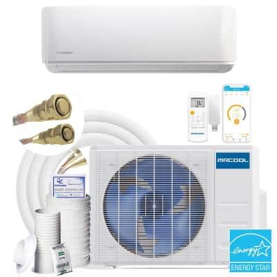 DIY Gen-3 12,000 BTU 22 SEER ENERGY STAR Ductless Mini Split Air Conditioner & Heat Pump w/ 25 ft. Install Kit 115-Volt