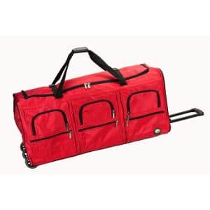 Voyage 40 in. Rolling Duffle Bag, Red