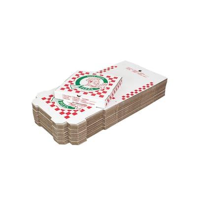 12 in. Pizza Box 200-Pack (12 in. L x 12 in. W x 1 7/8 in. D)