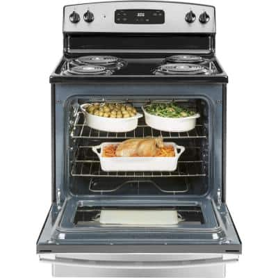 30 in. 5.0 cu. ft. Electric Range in Stainless Steel